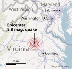 East coast quake 2011